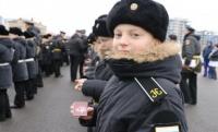Севастопольские кадеты вступили в ряды «Юнармии»