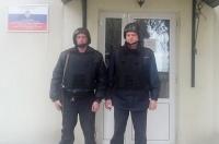 В г. Алуште сотрудники вневедомственной охраны Росгвардии задержали гражданина с огнестрельным оружием
