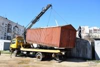 В Евпатории продолжается демонтаж незаконных гаражей
