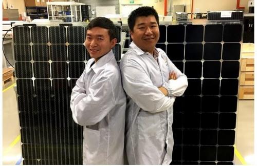 Создан первый в мире полноразмерный двусторонний IBC-солнечный модуль