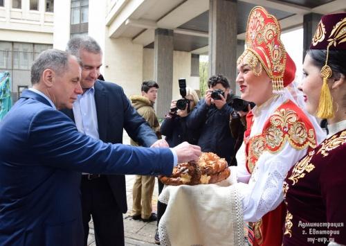День Евпатории с размахом прошел в Госсовете Крыма