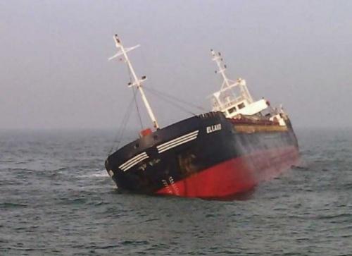 Затонувший в Керченском проливе сухогруз может стать причиной загрязнения