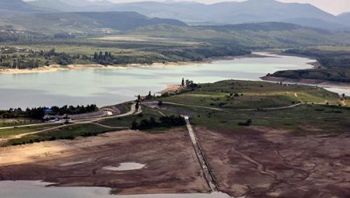 Объем воды в водохранилищах Крыма возрос на 18%