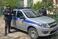 В г. Ялте наряд вневедомственной охраны Росгвардии задержал подозреваемого в краже