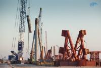 Уже готово 50% опор и 70% свай Керченского моста