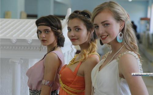 В керченском лапидарии прошел показ древнегреческих мод