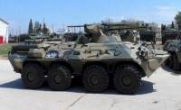 Севастопольские морпехи получили новые БТР