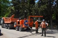 Администрация Ялты приобретет еще одну установку для ямочного ремонта дорог современным методом