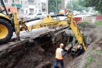 В Симферополе в связи с ремонтом тепловых сетей ограничат движение на участке ул.Толстого