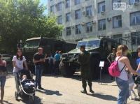 В Симферополе День пограничника отпраздновали показом военной техники и оружия