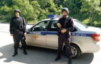 В г. Алупке сотрудники Росгвардии задержали подозреваемого гражданина в угрозе убийством местной жительнице
