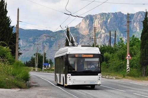 44 новых горных троллейбуса закупили для Республики Крым