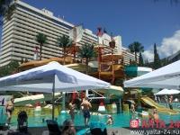 В отеле «Ялта-Интурист» открылся аквапарк