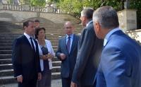 Путин попросил главу Крыма ускорить реставрацию Митридатской лестницы в Керчи