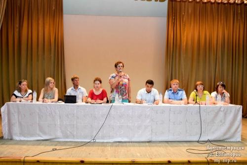 В Евпатории прошел семинар для многодетных родителей