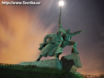 """Памятник """"Солдату и Матросу"""""""