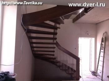 Межэтажные деревянные лестницы