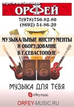 """Магазин музыкальных инструментов """"Орфей"""""""
