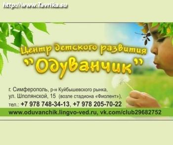 """Центр детского развития """"Одуванчик"""""""