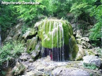 """Водопад """"Серебряные струи"""""""